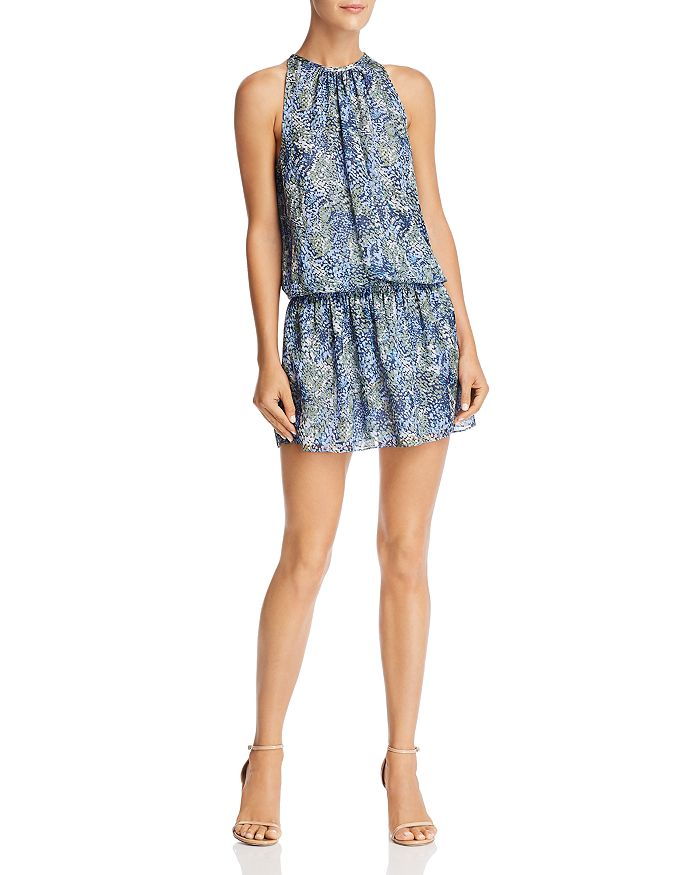 Ramy Brook - Paris Printed-Silk Mini Dress