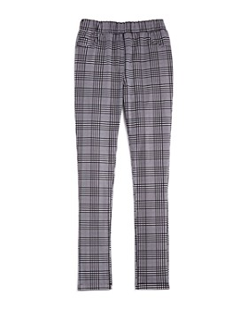 AQUA - Girls' Plaid Leggings, Big Kid - 100% Exclusive