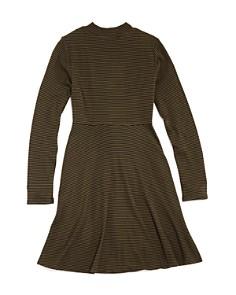 AQUA - Girls' Tie-Front Dress, Big Kid - 100% Exclusive