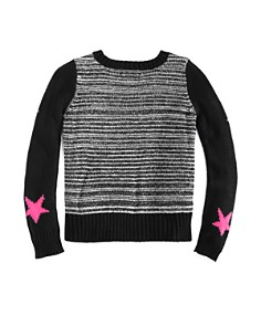 Design History - Girls' Star Sweater - Little Kid