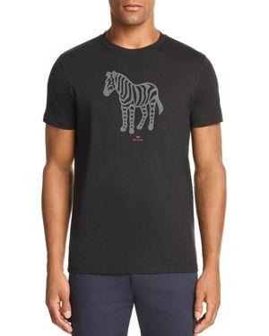 Ps Paul Smith Zebra Graphic Tee
