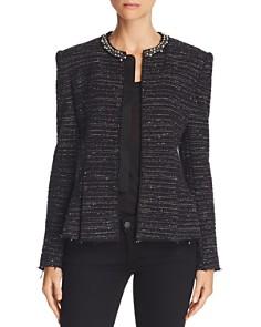Rebecca Taylor - Embellished Tweed Jacket