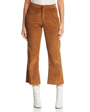 Mkt Studio Polief Corduroy Cropped Flare Pants