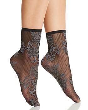 Natori - Chantilly Sheer Shortie Socks