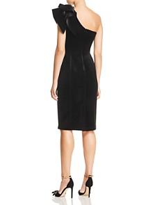 Eliza J - One-Shoulder Velvet Dress