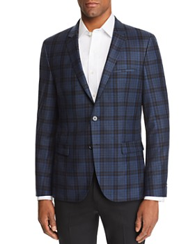 HUGO - Arti Plaid Slim Fit Sport Coat