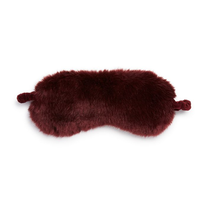 Hudson Park Collection - Faux Fur Eye Mask - 100% Exclusive