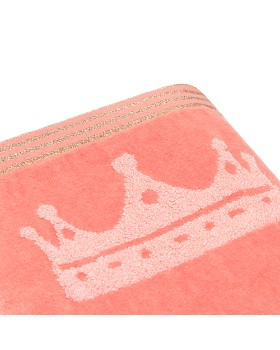 Caro Home - Princess Crown Kids Towel - 100% Exclusive