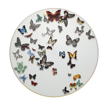 Vista Alegre - Butterfly Parade by Christian Lacroix Charger Plate