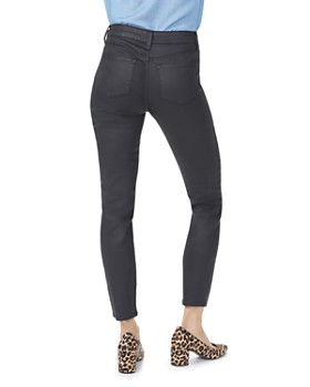 NYDJ - Ami Coated Skinny Jeans in Black