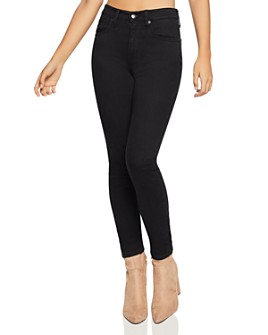 BCBGENERATION - Ankle Skinny Jeans in Black Rinse