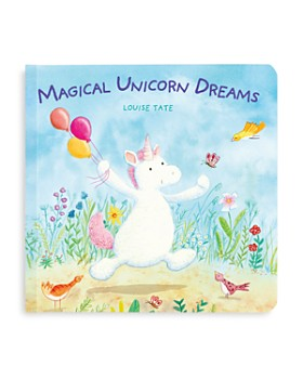 Jellycat - Magical Unicorn Dreams Book - Ages 0+