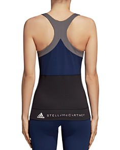 adidas by Stella McCartney - Yoga Comfort Color-Block Tank