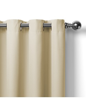 Elrene Home Fashions - Connor Solid Indoor/Outdoor Curtain Collection