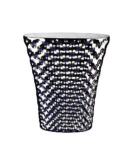 "Rosenthal - Vibrations 13.25"" Oval Vase, Platinum by Rosenthal"