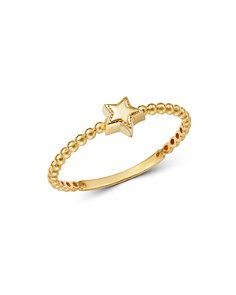 Moon & Meadow - 14K Yellow Gold Star Ring - 100% Exclusive