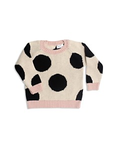Tun Tun - Girls' Knit Polka-Dot Sweater - Baby