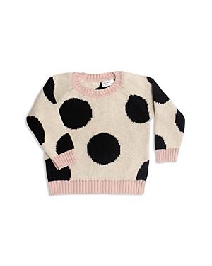 Tun Tun Girls Knit PolkaDot Sweater  Baby