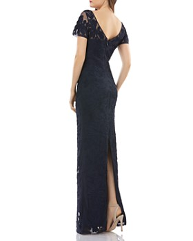 JS Collections - Illusion Soutache Gown