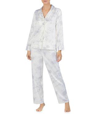 Pajamas, White Print