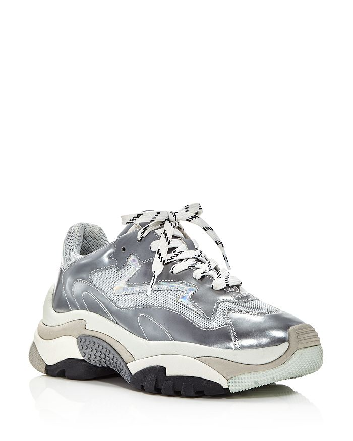 Ash - Women's Addict Leather Lace Up Sneakers