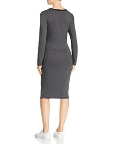 Splendid - Long-Sleeve Ruched Dress