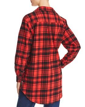 Tommy Jeans - Cotton Plaid Boyfriend Shirt