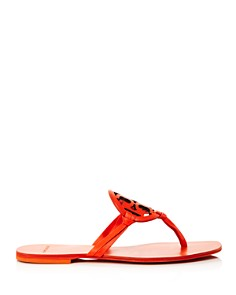 Tory Burch - Women's Miller Square-Toe Thong Sandals