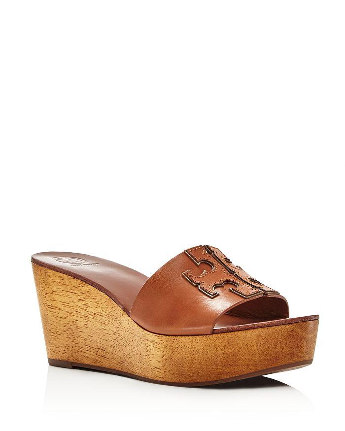 Tory Burch - Women's Ines Wedge Platform Slide Sandals