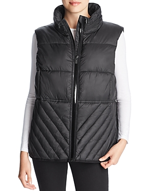 Marc New York Packable Hooded Puffer Vest