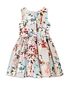 Pippa & Julie - Girls' Embellished Floral Dress - Little Kid