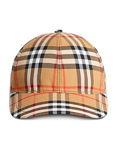 Burberry - Vintage Check Baseball Cap