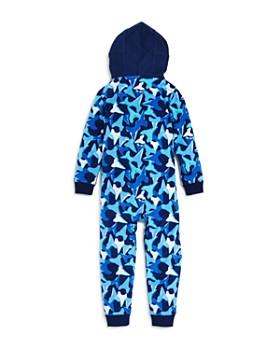 Dream Life - Boys' Fleece Shark Romper - Little Kid, Big Kid