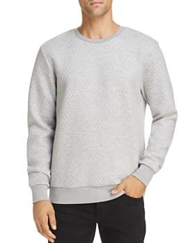 Scotch & Soda - Quilted Crewneck Sweatshirt