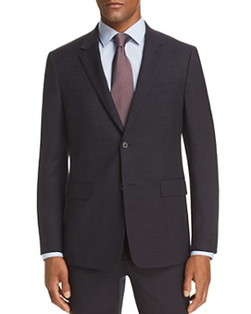 Theory - Gansevoort Tonal Texture Slim Fit Suit Jacket