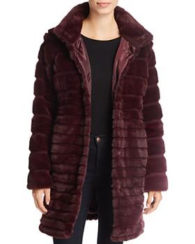 Via Spiga - Lush Chubby Faux Fur Puffer Coat