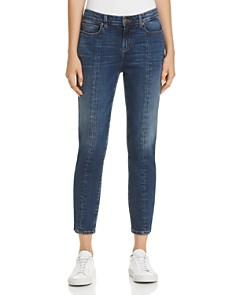 Eileen Fisher - Seamed Crop Jeans in Aged Indigo - 100% Exclusive