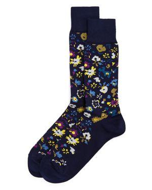 Paul Smith Decoupage Floral Socks