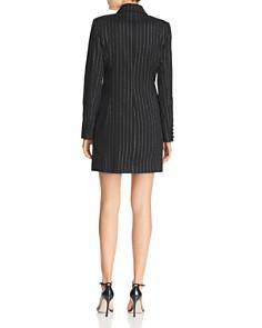 MILLY - Pinstriped Mini Blazer Dress