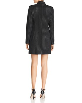 MILLY - Pinstriped Mini Blazer Dress