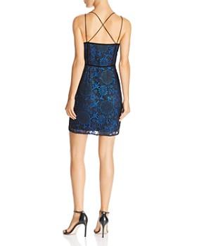 GUESS - Adina Metallic-Lace Dress