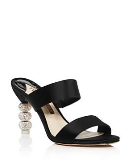 Sophia Webster - Women's Rosalind Crystal 85 High-Heel Slide Sandals