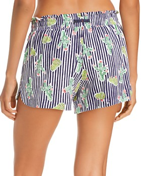 Jane & Bleecker New York - Printed Pajama Shorts