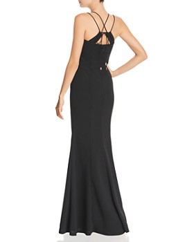 Bariano - Pleated Sweetheart Gown - 100% Exclusive
