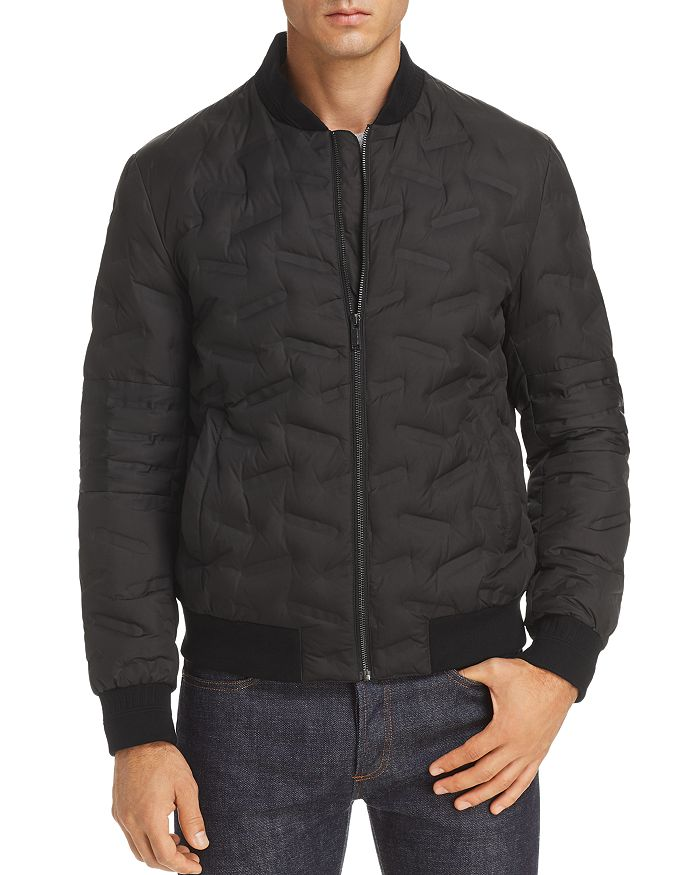 KARL LAGERFELD Paris - Novelty-Quilted Bomber Jacket