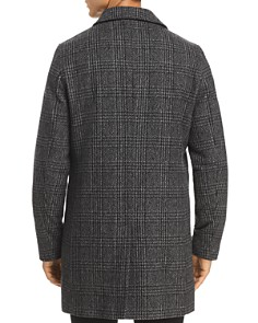 KARL LAGERFELD Paris - Plaid Wool Topcoat
