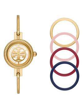 Tory Burch - The Reva Bangle Bracelet Watch Gift Set, 27mm