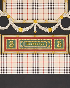 Burberry - Archive Print Silk Scarf
