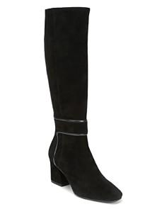 Donald Pliner - Women's Goa Square Toe Suede Boots