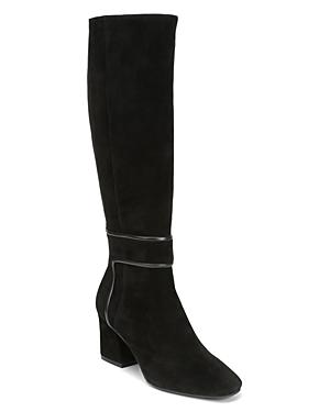 Donald Pliner Women's Goa Square Toe Suede Boots